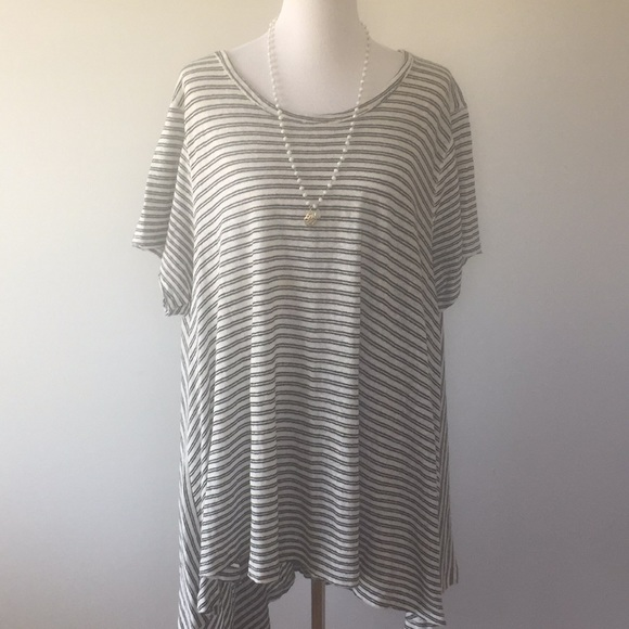Oversized High Low Free People Tunic Dress